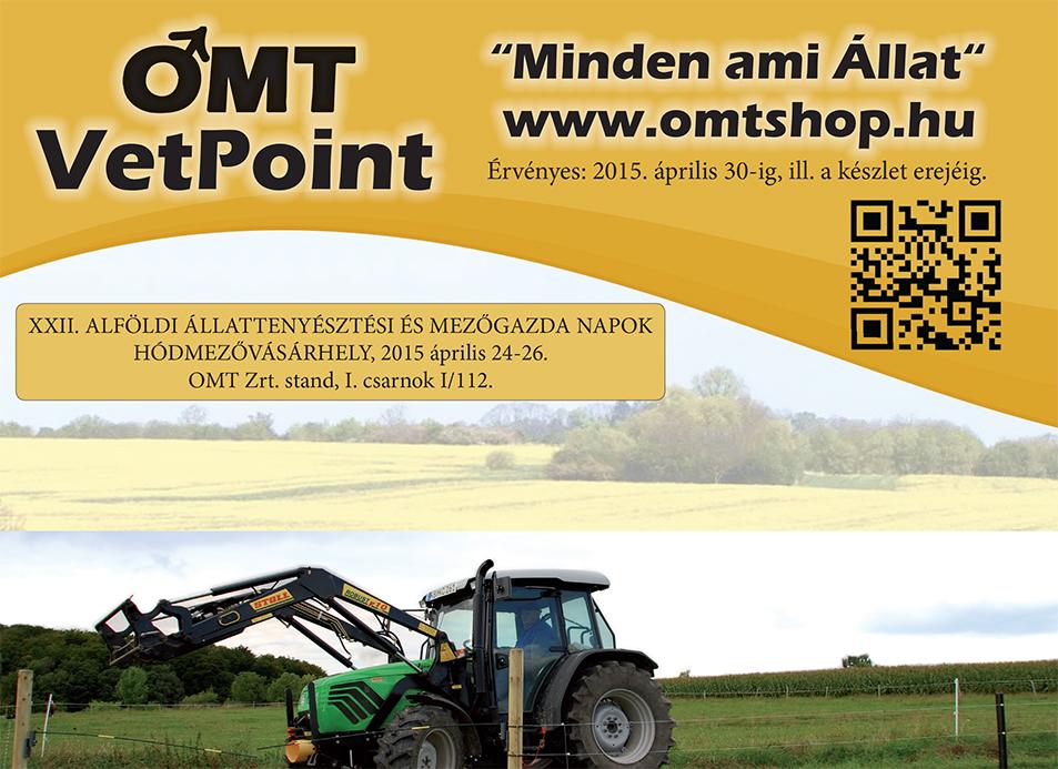 OMT-VetPoint villanypásztor,haszonállat és lovas újság 2015.április